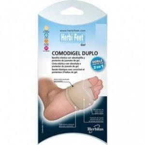 ελαστικό προστατευτικό για το κότσι και το μετατάρσιο με gel HerbiFeet katsoulas.eu