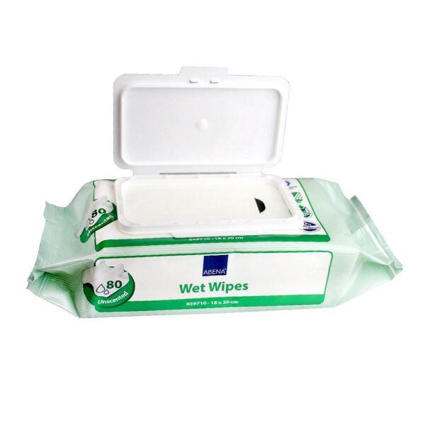 υγρά μαντιλάκια καθαρισμού ABENA katsoulas.eu