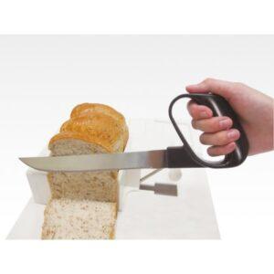 Εργονομικό Μαχαίρι Κουζίνας με Οδοντωτή Λάμα alfacare katsoulas.eu